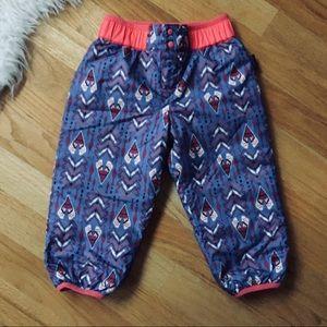 Patagonia NWOT Reversible Snow Pants